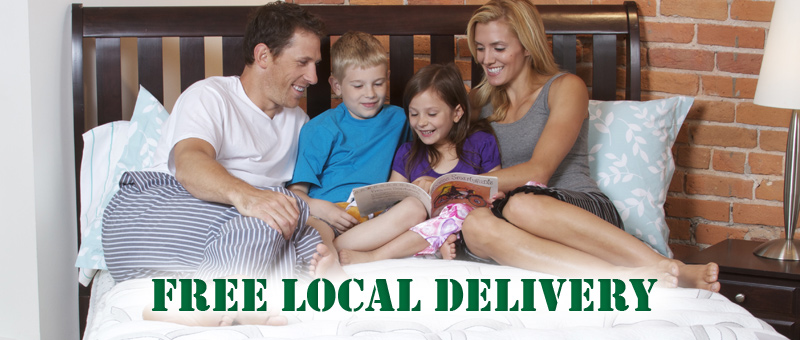 Hood River Mattress offers free local delivery