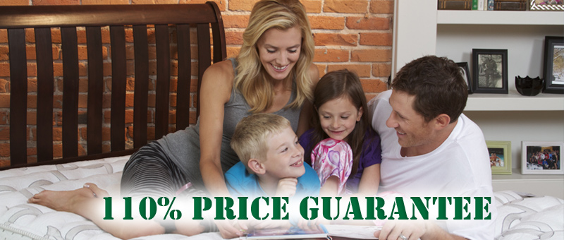 recevive a 11% price guarantee at hood river mattress